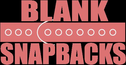 Blank Snapbacks, Wholesale Snapbacks